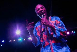 Femi Kuti & The Positive Force (with Mathias and The Pirates) at The Ready Room 7/9/16