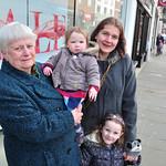 Aunty Olive, Amelie, Mairi, Bobbie