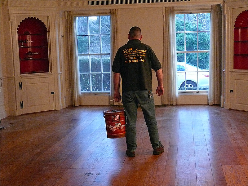Woodcrest Floors at Work