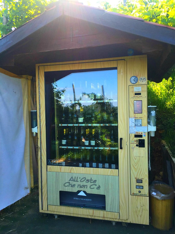 Prosecco Hills Vending Machine