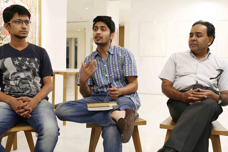 City Moment - Facebook Betrayal and Redemption at the Reading of The God of Small Things, Caara Cafe in the British Council