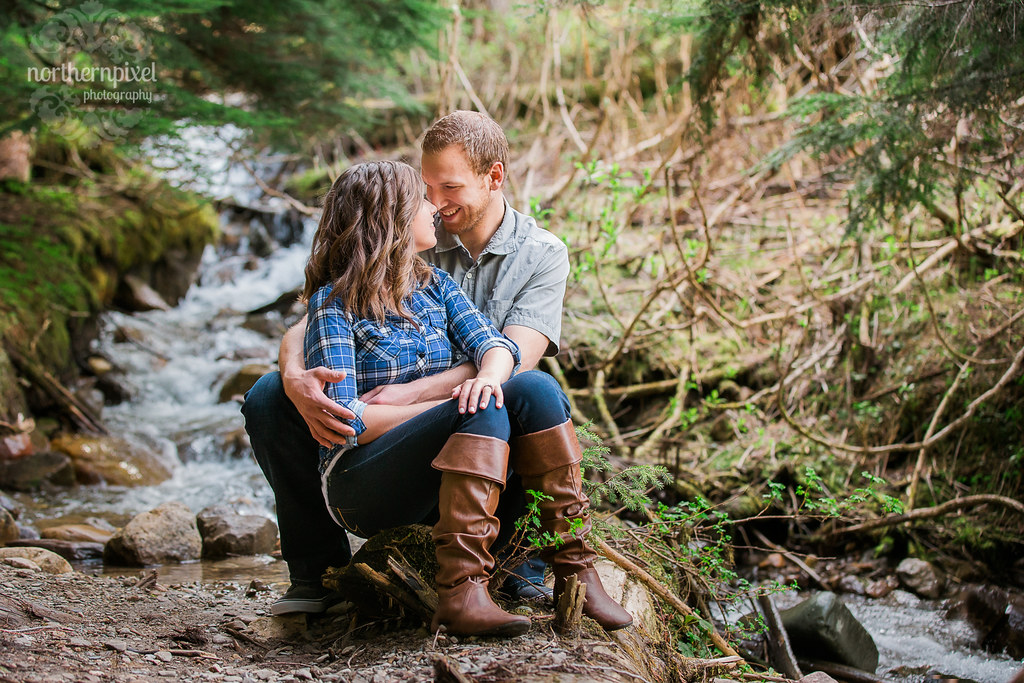 Engagement Session - Ancient Forest BC