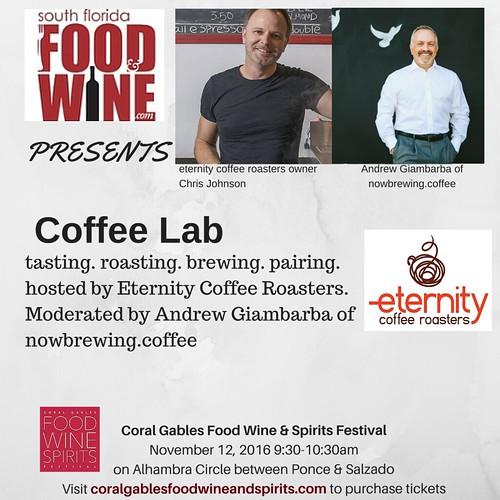 South Florida Food and Wine Coffee Lab