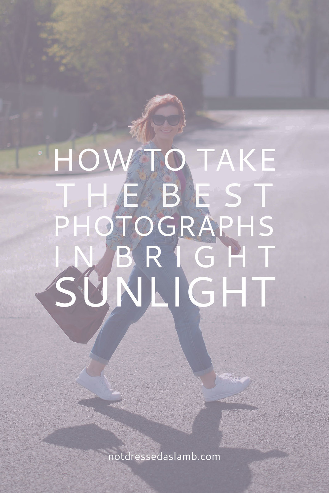 how to take pictures in bright sunlight