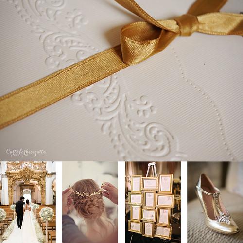 Matrimonio Elegante Oro