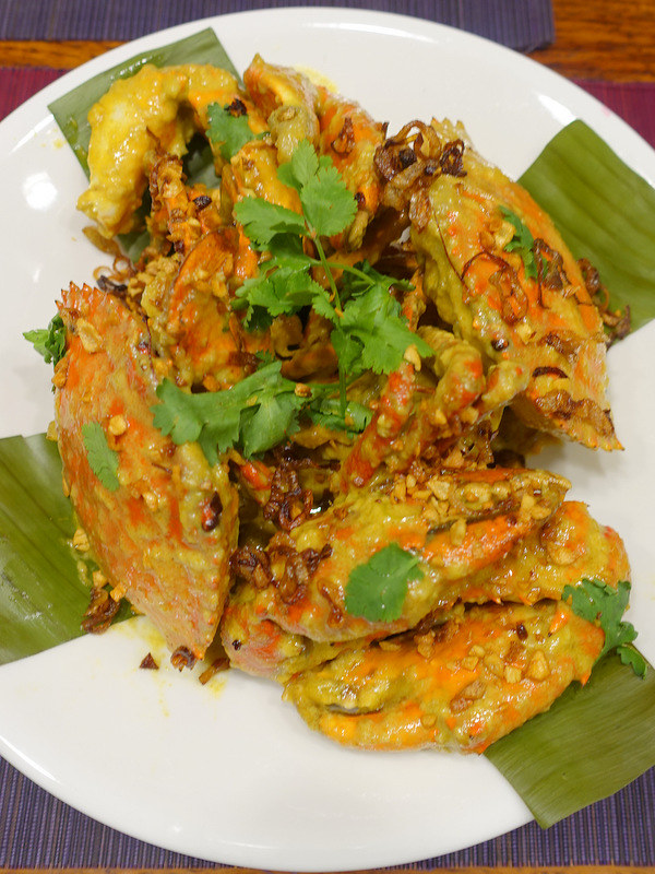 Sandra's Chili Coconut Curry Crab