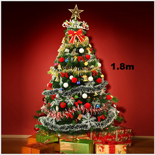 Ft pre lit artificial indoor led lights christmas tree