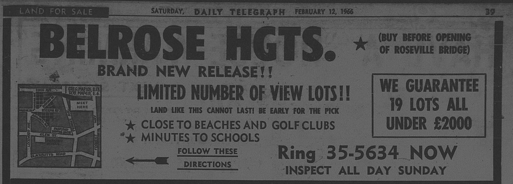 Belrose Heights February 12 1966 daily telegraph 39