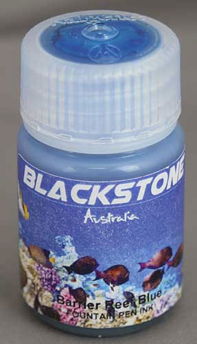 Ink Shot Review Blackstone Barrier Reef Blue @AndersonPens 8