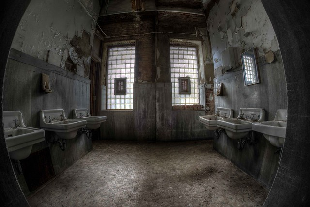 Asylum Bathroom