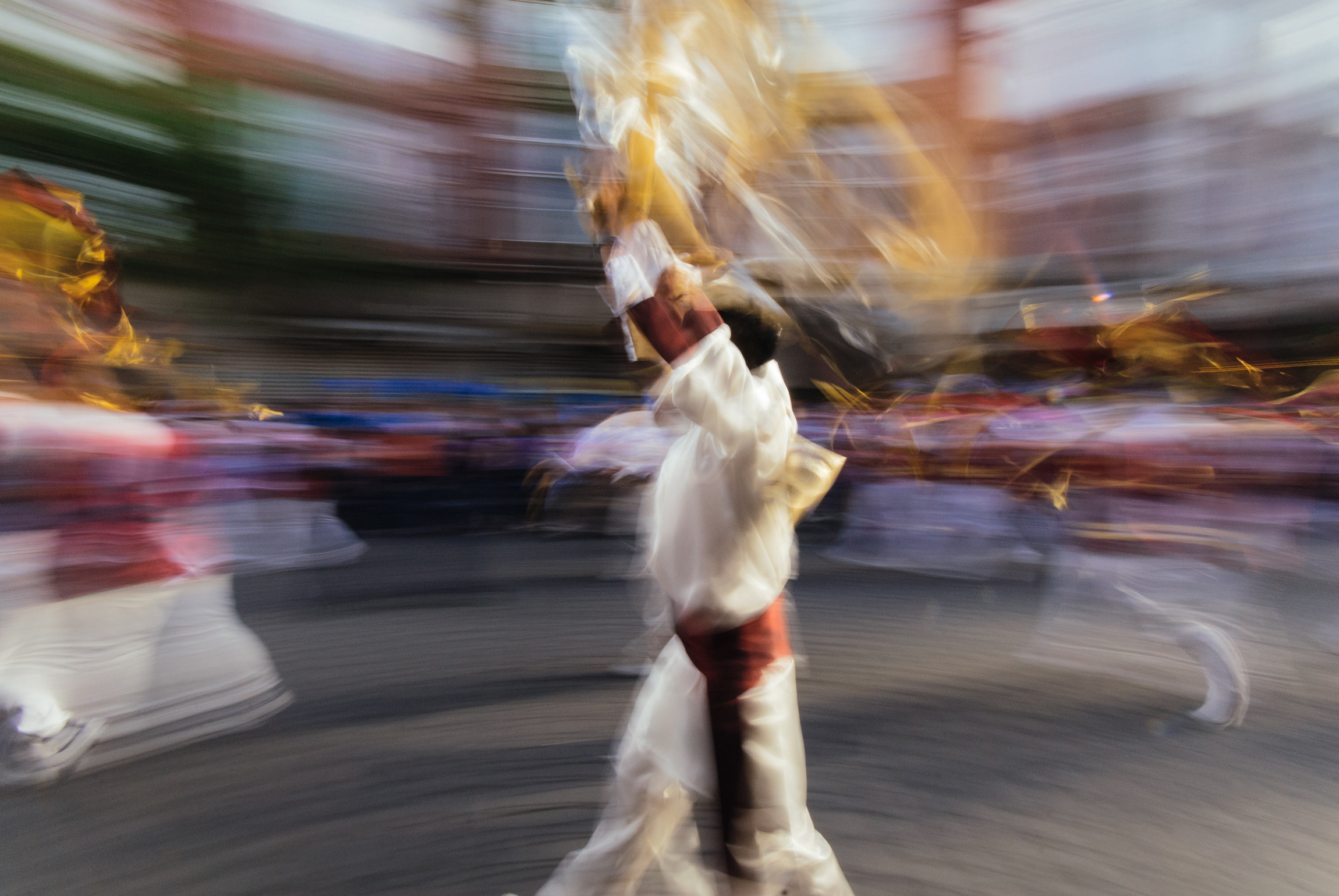 Christian Evangelical Parade (Mexico City) - Blurred
