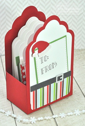 TE Trim the Tag Gift Box