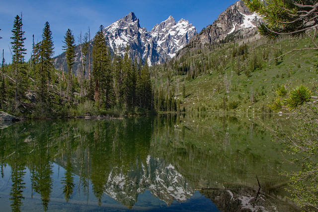 String Lake Trail: Grand Teton National Park