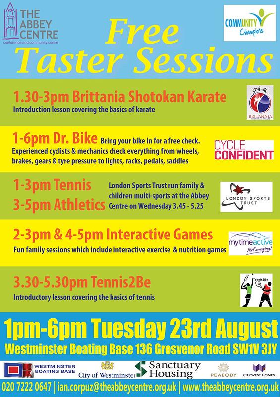Summer-health-fair-taster-session