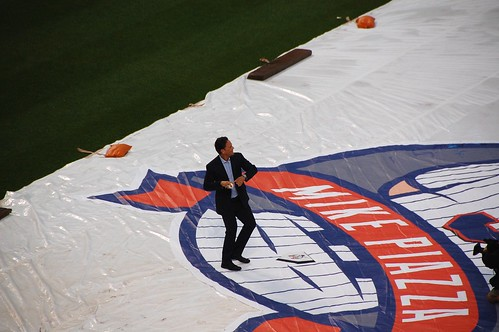 Leiter and Piazza First Pitch