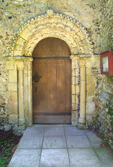 Norman north doorway