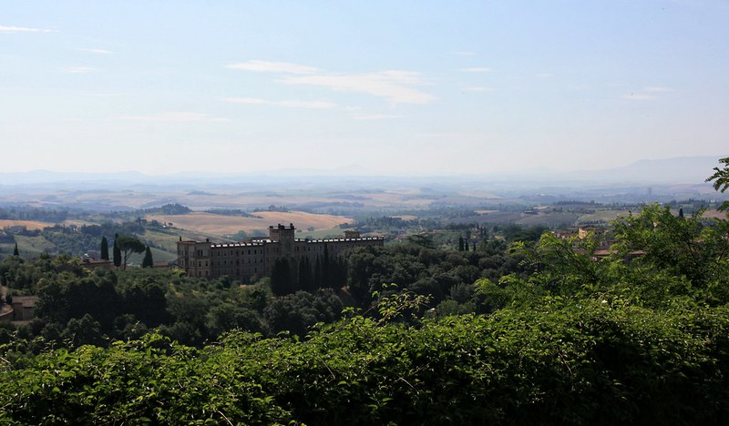 View from Siena's walls