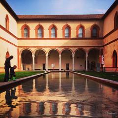 Castello Sforzesco. Milan. Italy