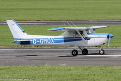 G-GMOX - 1979 build Cessna 152, taxiing for departure at Gloucester