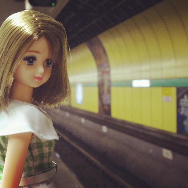 #駅 #ドール #地下鉄 #東京 #ジェニーフレンド #doll #station #tokyo #tokyometro