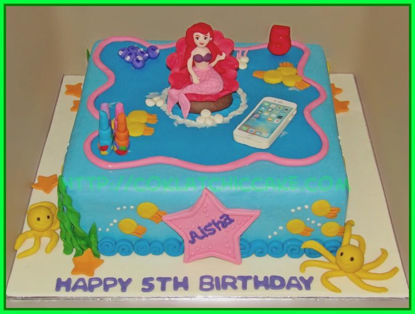 Cake Disney Ariel
