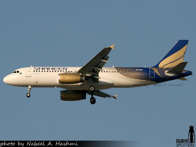 Shaheen Air | Airbus A320-200 | AP-BLI | DXB