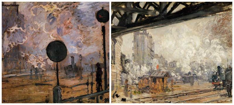 Gare de Saint-Lazare - Monet