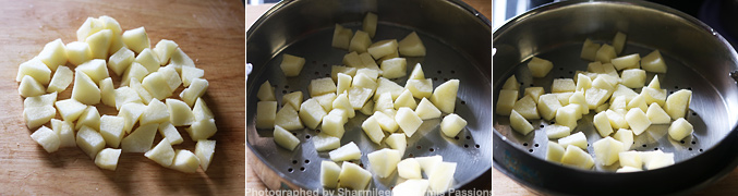 How to make Steamed Apple Puree for Babies - Step2