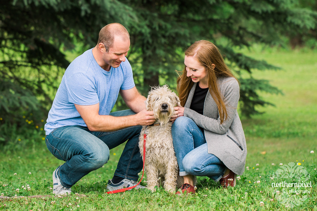 Cottonwood Park Engagement Session - Prince George BC