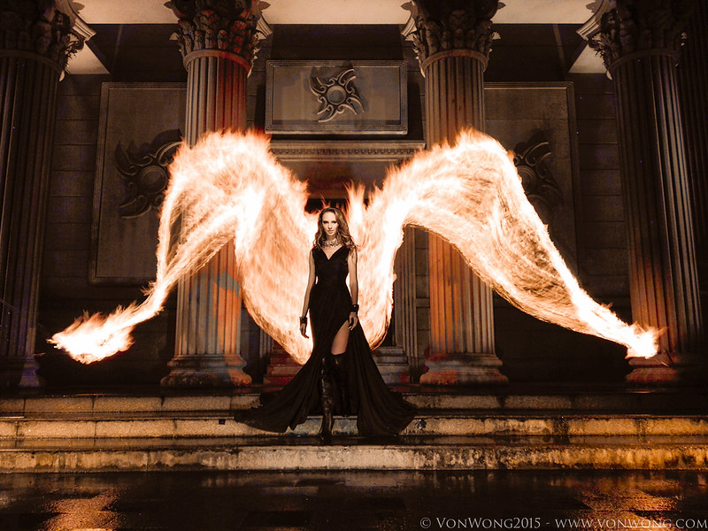 Fire Angel taken with a Smartphone!