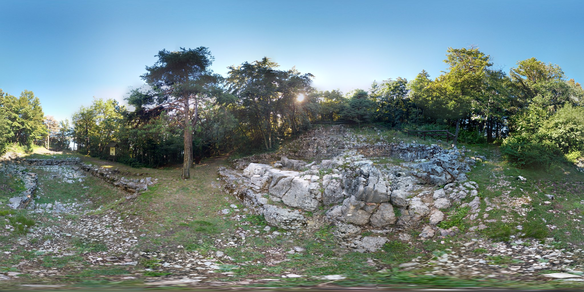Area Archeologica Dos Castel 360°
