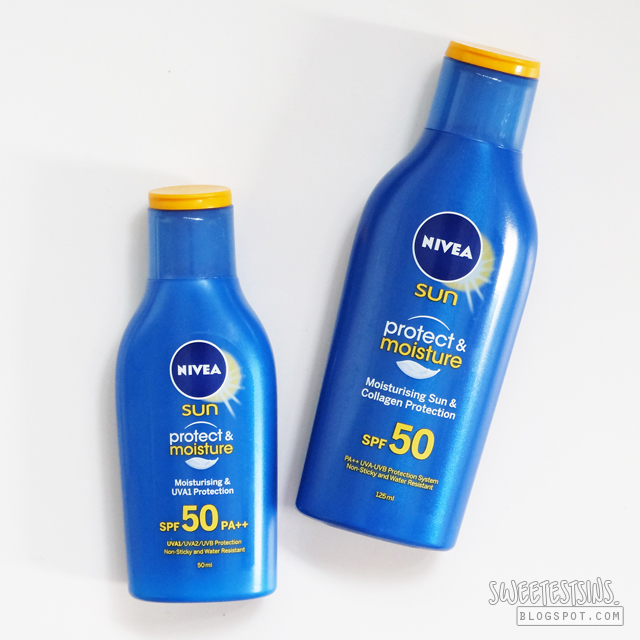 nivea protect & moisture sun lotion review