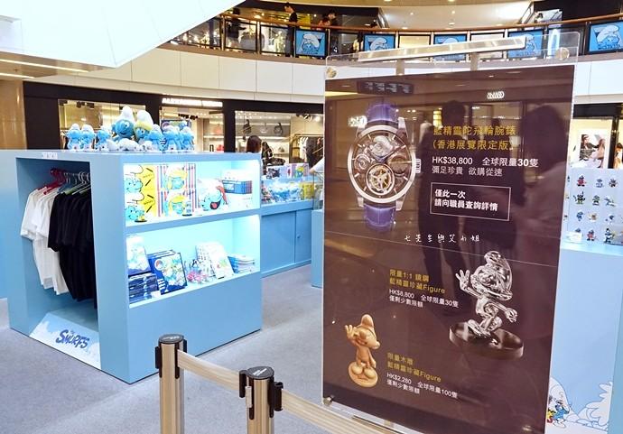 23 香港 海港城 Harbourcity 藍精靈 十分勁