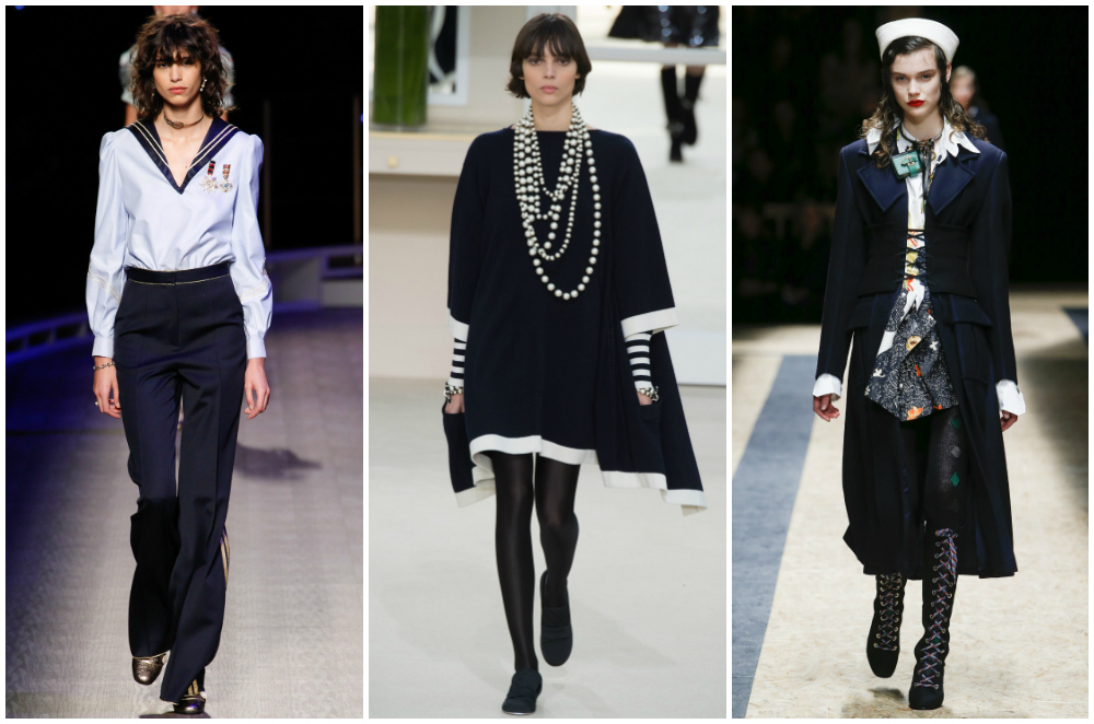 Military Navy Fall 2016 fashion trends