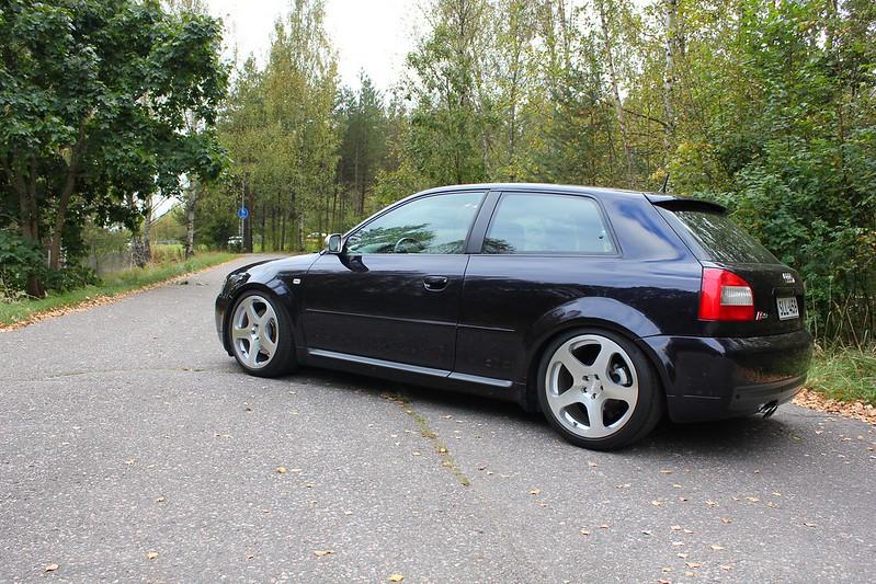 Japrnoo: Datsun 510 & EX Audi S3 29131969353_8cb846595c_c