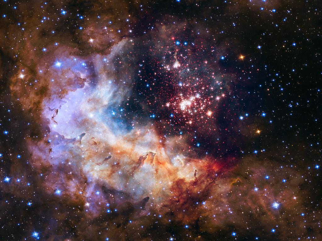 Open Star Cluster Westerlund 2 & Starforming Region Gum 29