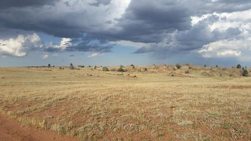 Darkening Skies over Wyoming
