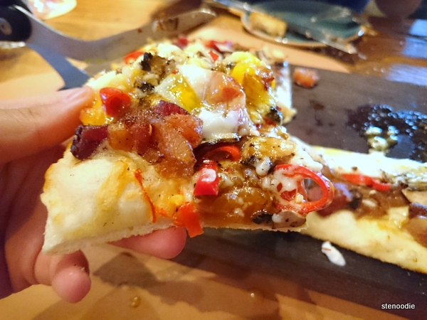 Smoked Bacon & Egg Pizza
