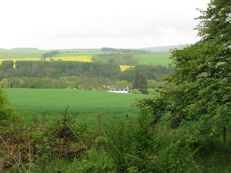 The Rule valley, Scottish Borders