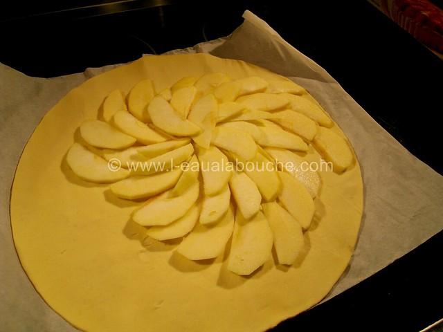 Tarte Fine de Pommes à la Noix de Coco © Ana Luthi Tous droits réservés 02