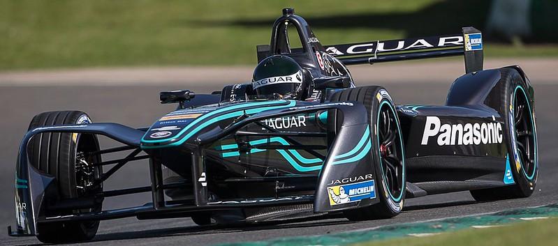 Jaguar I-type Formula E Race Car