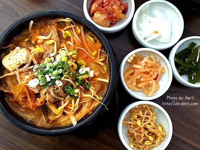 [台中]韓34–五種小菜、白飯通通吃到飽,C/P值非常高的韓式料理@一中 益民商圈 北區