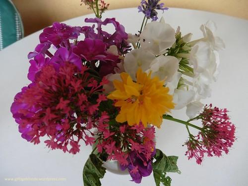 Kleiner Blumengruß ausn wilden Garten