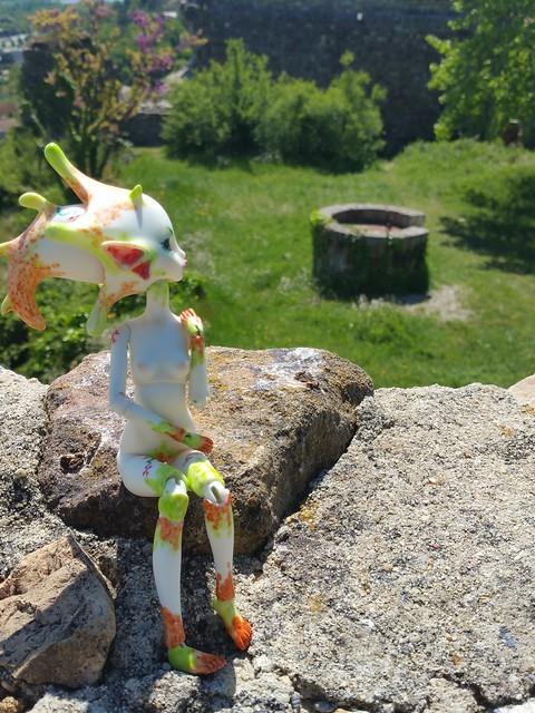 Galatéa (Dollzone Wendy) Château et nouvelle amie p1 28853496825_28dd7f24bb_z