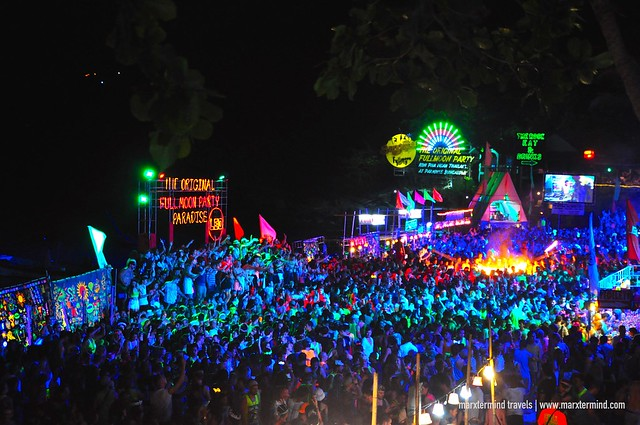 The Original Full Moon Party in Koh Phangan Thailand
