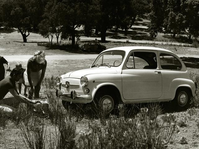 Хэтчбек SEAT 600 E. 1969 - 1973 годы