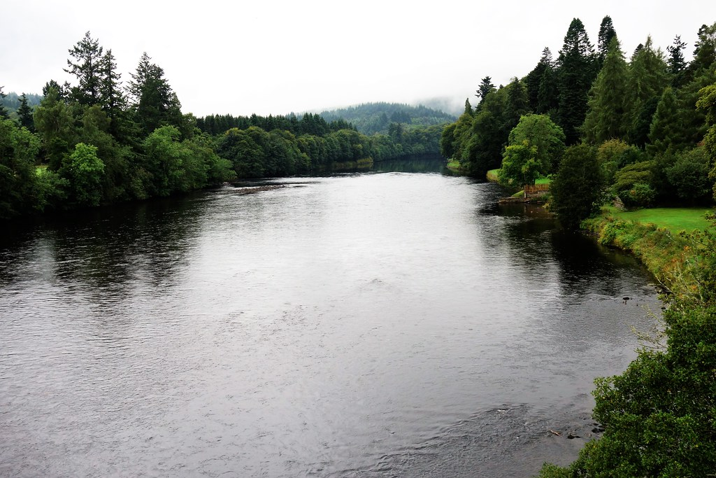 River Tay at Dunkeld, Scotland