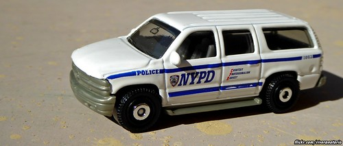 Matchbox - NYPD 5 Pack