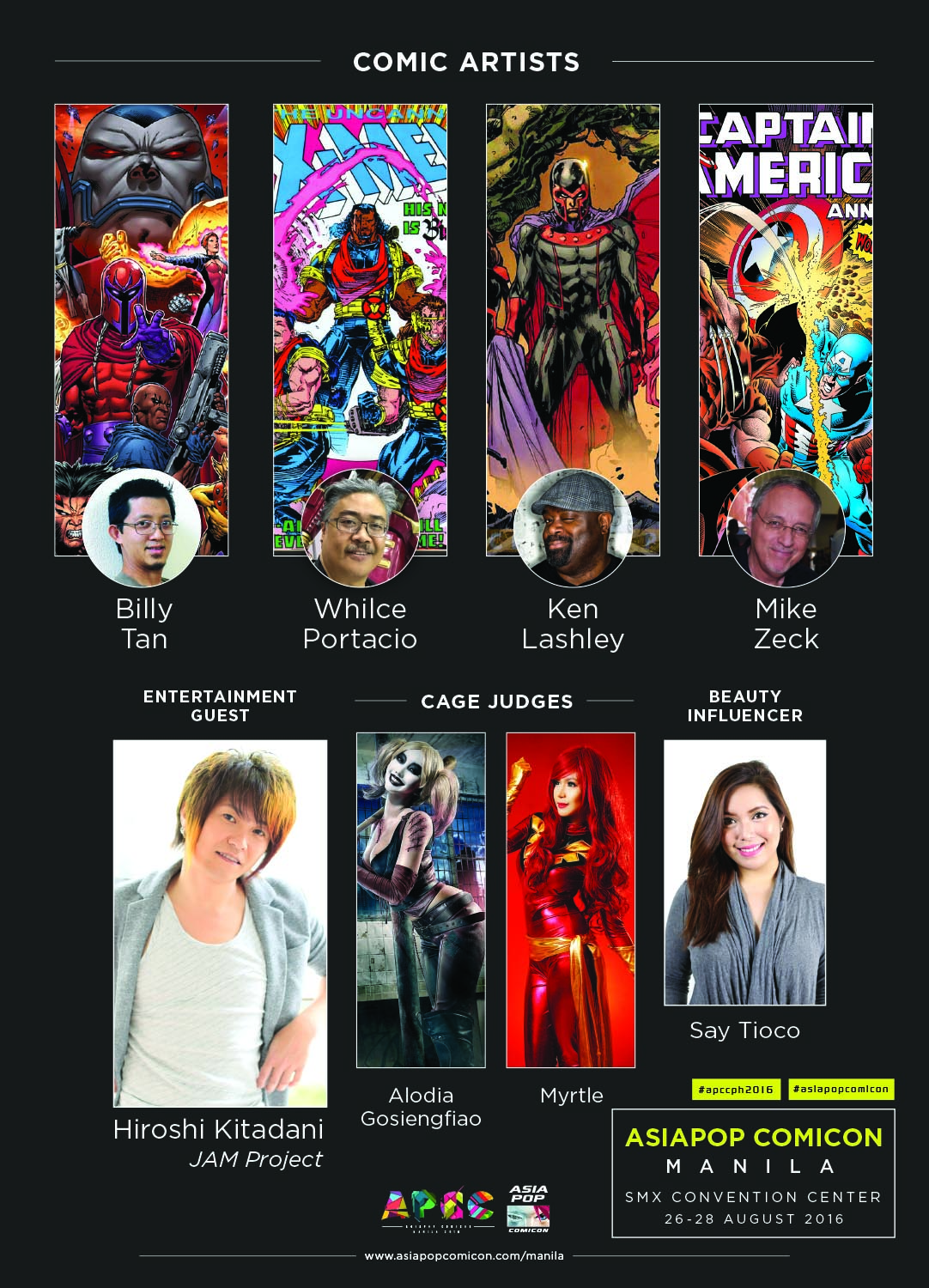 POP Culture Explosion at AsiaPOP Comicon Manila 2016