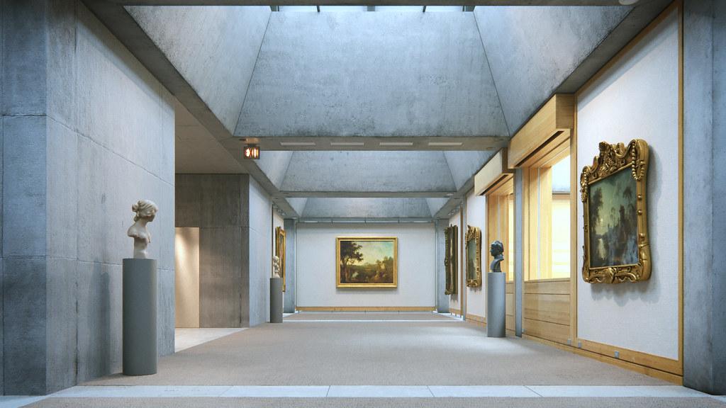 Louis Kahn's Yale Center for British Art
